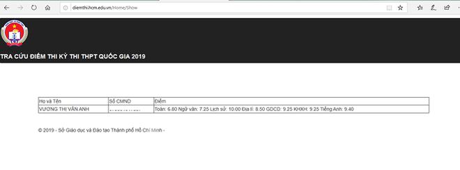 Thủ khoa của TPHCM là 28,55 điểm - Ảnh 3.