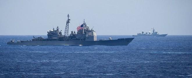 [ẢNH] Tàu trinh sát điện tử Trung Quốc chen ngang cuộc tập trận cực lớn của Mỹ và đồng minh - Ảnh 5.