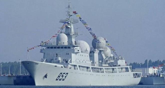 [ẢNH] Tàu trinh sát điện tử Trung Quốc chen ngang cuộc tập trận cực lớn của Mỹ và đồng minh - Ảnh 7.