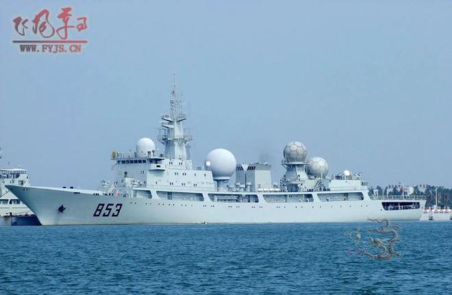 [ẢNH] Tàu trinh sát điện tử Trung Quốc chen ngang cuộc tập trận cực lớn của Mỹ và đồng minh - Ảnh 8.