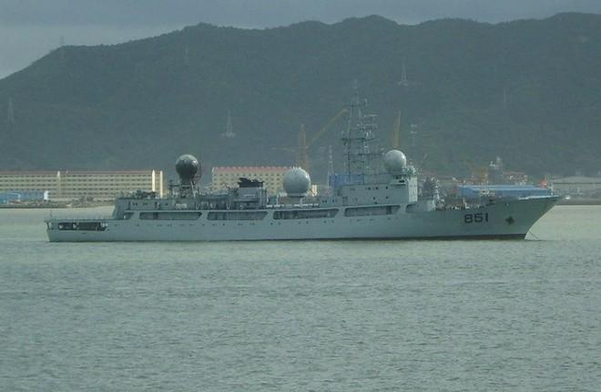 [ẢNH] Tàu trinh sát điện tử Trung Quốc chen ngang cuộc tập trận cực lớn của Mỹ và đồng minh - Ảnh 9.