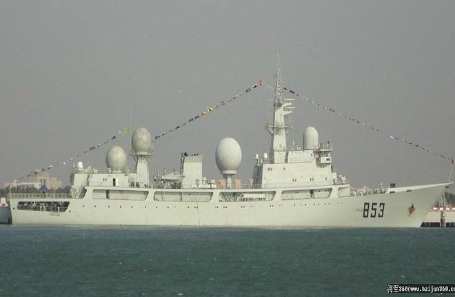 [ẢNH] Tàu trinh sát điện tử Trung Quốc chen ngang cuộc tập trận cực lớn của Mỹ và đồng minh - Ảnh 10.