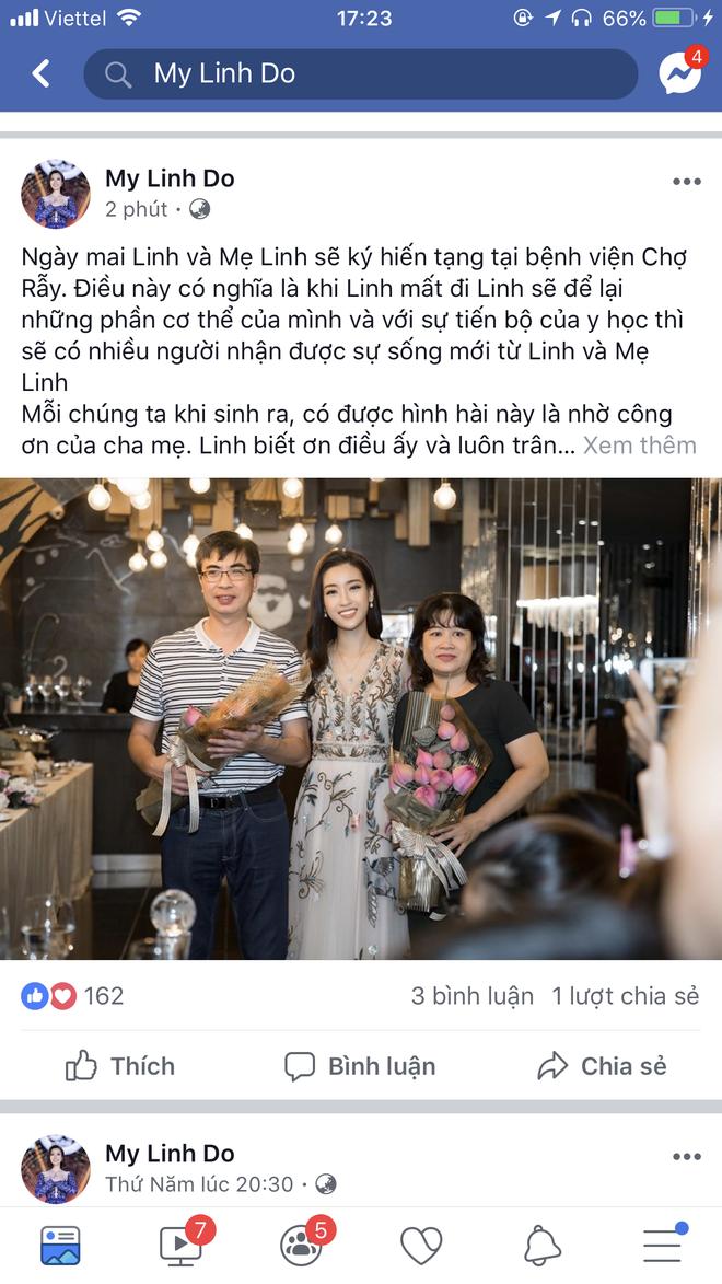 Đỗ Mỹ Linh trở thành Hoa hậu Việt Nam đầu tiên đăng ký hiến tạng cứu người - Ảnh 1.