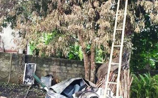 Nhà của bà nội thủ môn Bùi Tiến Dũng bị thiêu rụi trong đêm