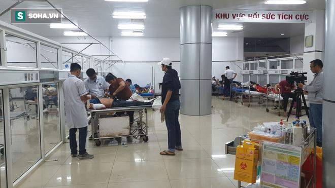 Thông tin mới nhất về sức khỏe của 13 nạn nhân bị thương trong vụ tai nạn lật xe khách - Ảnh 2.