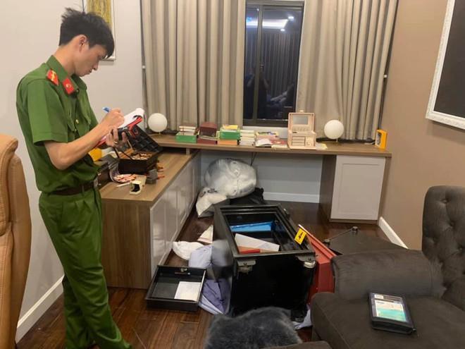 Ca sĩ Nhật Kim Anh trình báo bị trộm dùng xà beng cạy 2 két sắt lấy 5 tỷ đồng trong biệt thự ở Sài Gòn - Ảnh 1.