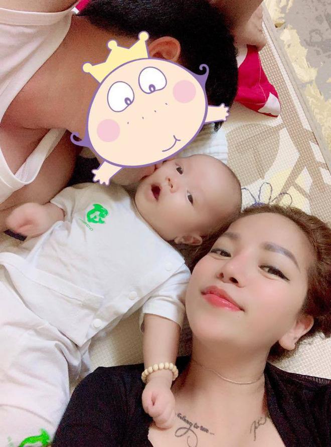 Minh Chuyên hé lộ hình ảnh bố con trai giữa tin đồn cặp đại gia có vợ, đáng tuổi ông - Ảnh 3.