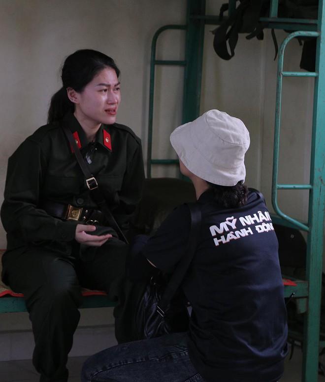 Ngọc Thanh Tâm sụt cân, khóc nức nở khi tham gia Mỹ nhân hành động - Ảnh 5.