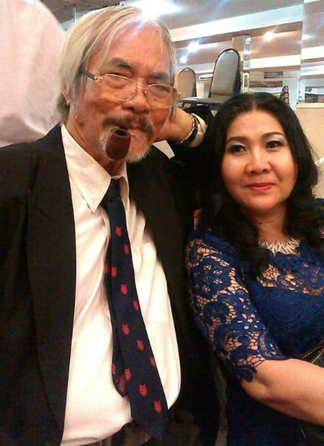 Chuyện tình cảm động của nhà thơ Phan Vũ với diễn viên nổi tiếng và người vợ thứ 2 kém gần 40 tuổi - Ảnh 5.