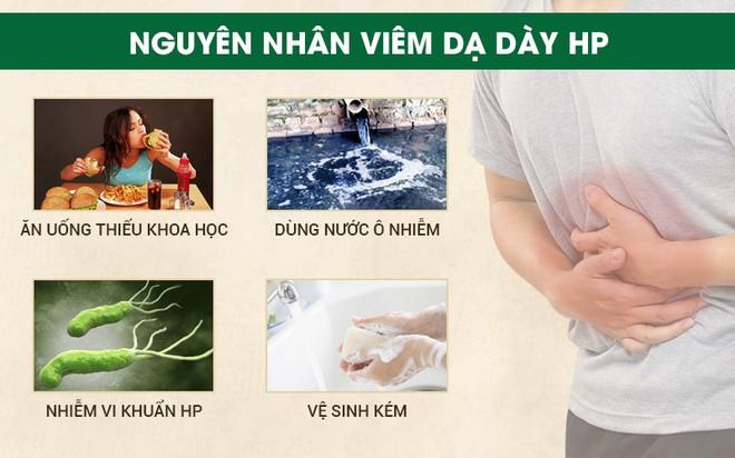Vi khuẩn HP là gì? Phác đồ điều trị viêm dạ dày HP dương tính hiệu quả     - Ảnh 1.