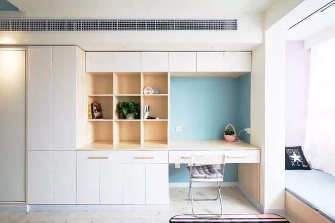 Căn hộ 39.5m² trong khu tập thể cũ vẫn đủ để thiết kế một không gian 2 phòng ngủ hiện đại và đẹp mắt - Ảnh 14.