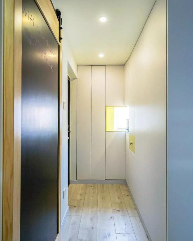 Căn hộ 39.5m² trong khu tập thể cũ vẫn đủ để thiết kế một không gian 2 phòng ngủ hiện đại và đẹp mắt - Ảnh 3.