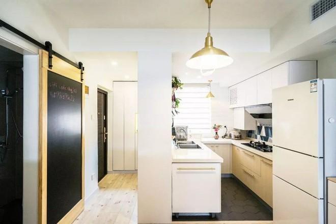 Căn hộ 39.5m² trong khu tập thể cũ vẫn đủ để thiết kế một không gian 2 phòng ngủ hiện đại và đẹp mắt - Ảnh 5.