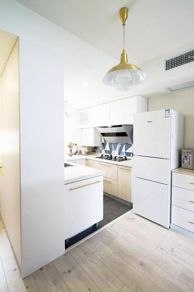 Căn hộ 39.5m² trong khu tập thể cũ vẫn đủ để thiết kế một không gian 2 phòng ngủ hiện đại và đẹp mắt - Ảnh 7.