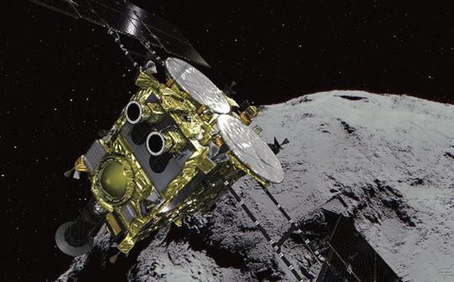 Tàu thám hiểm Nhật Bản thu thập mẫu đá ở tiểu hành tinh Ryugu