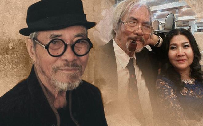 Chuyện tình cảm động của nhà thơ Phan Vũ với diễn viên nổi tiếng và người vợ thứ 2 kém gần 40 tuổi