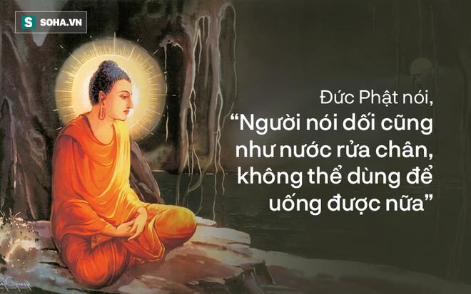 Lỡ ăn vụng ở nhà vợ rồi nói dối, chồng không ngờ hậu quả sau đó và bài học Đức Phật dạy con - Ảnh 3.