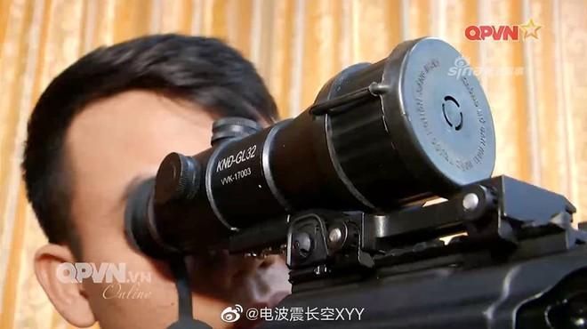 Báo Trung Quốc quan tâm mắt thần trên súng trường Galil ACE Việt Nam - ảnh 1
