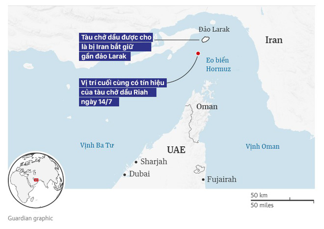 Iran tuyên bố bắt giữ tàu nước ngoài chở lậu 1 triệu thùng dầu ở vịnh Ba Tư - Ảnh 1.
