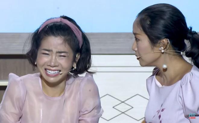 """Gameshow """"8 lạng nửa cân"""": Mai Phương bật khóc, tát mạnh Ốc Thanh Vân"""