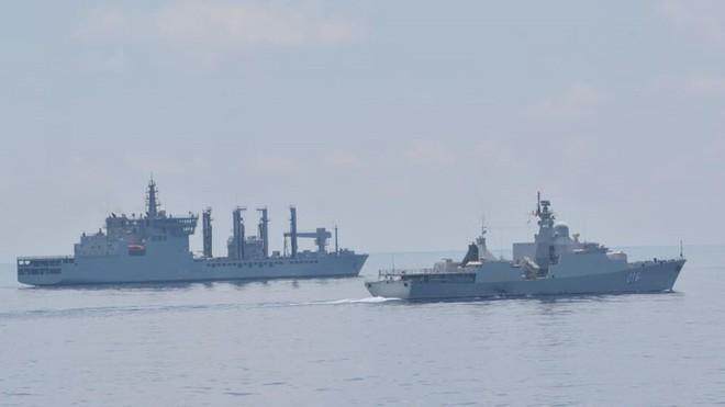 Tự hào vũ khí Việt Nam: Tàu Gepard lớn và hiện đại nhất có chuyến đi lịch sử - Kỷ lục mới - Ảnh 2.