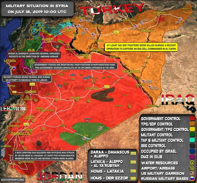 Máy bay tối tân của Mỹ áp sát Syria - Căn cứ Khmeimim đầu não Không quân Nga bị tấn công - Ảnh 7.