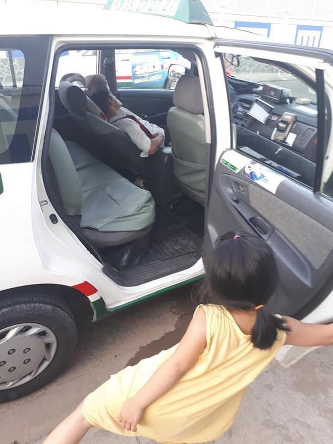 Cô bé nô đùa bên đường và câu nói vọng ra từ taxi của tài xế khiến người đi đường sững lại - Ảnh 3.