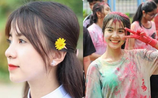 Nữ sinh 18 tuổi gây sốt trong trang phục Campuchia, nổi tiếng ở trường vì lí do đặc biệt