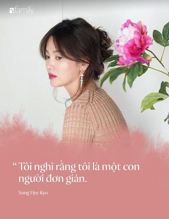 Toàn bộ bài phỏng vấn đầu tiên của Song Hye Kyo, tiết lộ chi tiết quan trọng về kế hoạch hậu ly hôn Song Joong Ki - Ảnh 2.