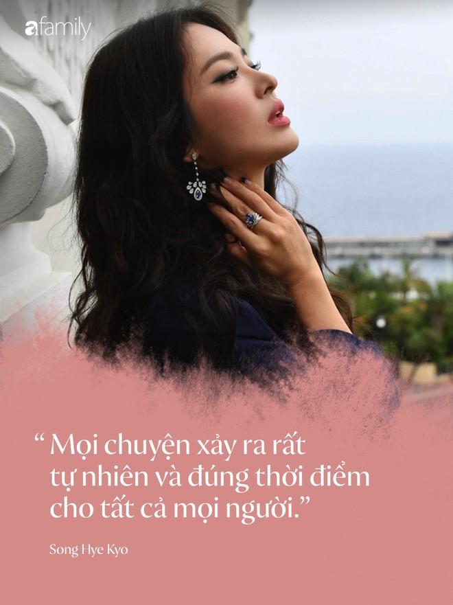 Toàn bộ bài phỏng vấn đầu tiên của Song Hye Kyo, tiết lộ chi tiết quan trọng về kế hoạch hậu ly hôn Song Joong Ki - Ảnh 3.