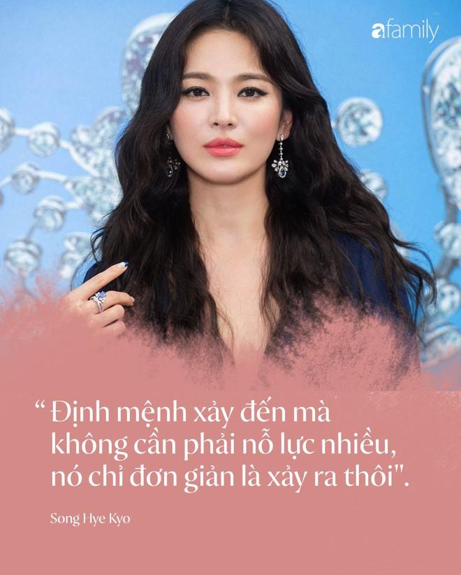 Toàn bộ bài phỏng vấn đầu tiên của Song Hye Kyo, tiết lộ chi tiết quan trọng về kế hoạch hậu ly hôn Song Joong Ki - Ảnh 4.