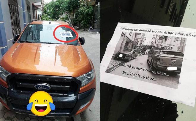 """Bị ô tô chắn trước cửa, chủ nhà gây bất ngờ với lời nhắn: """"Cần hỗ trợ tiền"""" cho tài xế"""