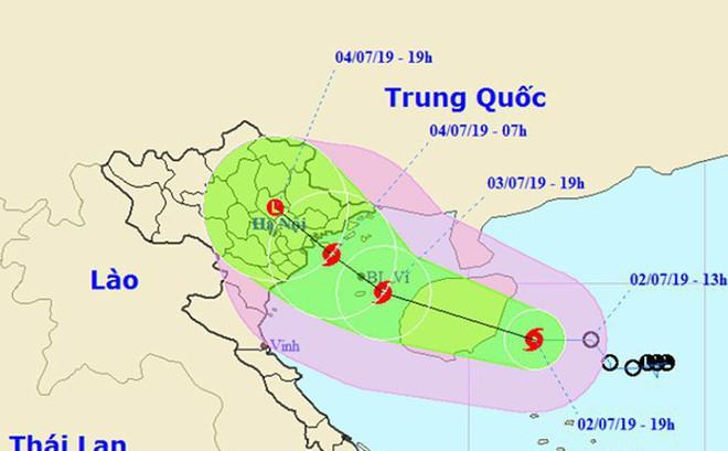 Áp thấp nhiệt đới mạnh thành bão, cách Quảng Ninh-Hải Phòng 500km