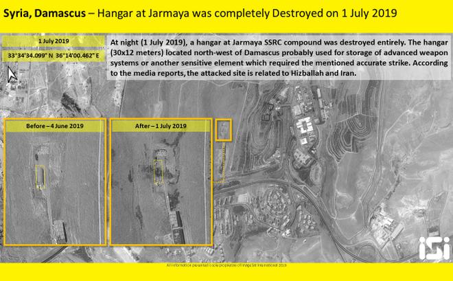 """Israel tấn công Syria: Kho vũ khí hiện đại bị san phẳng thành """"đống tro tàn"""""""