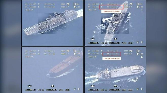 Iran tung video bắt giữ tàu chở dầu ở Eo biển Hormuz - Tàu chiến Hải quân Anh can thiệp bất thành - Ảnh 15.