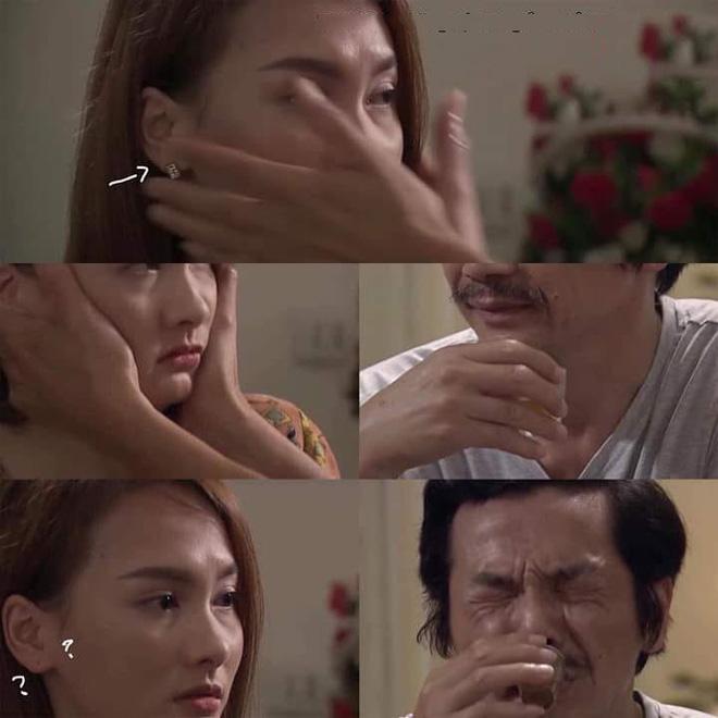 Cảnh phim xúc động nhất tập 69 Về nhà đi con lại trở nên hài hước bởi chiếc hoa tai, dân mạng thích thú gọi tên cô Hạnh - Ảnh 3.