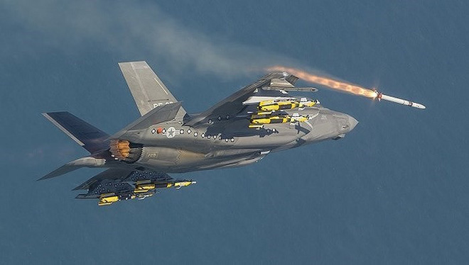 Nga giật mình khi tiêm kích F-35 Mỹ hiện diện ngay tại quốc gia từng thuộc Liên Xô - Ảnh 8.