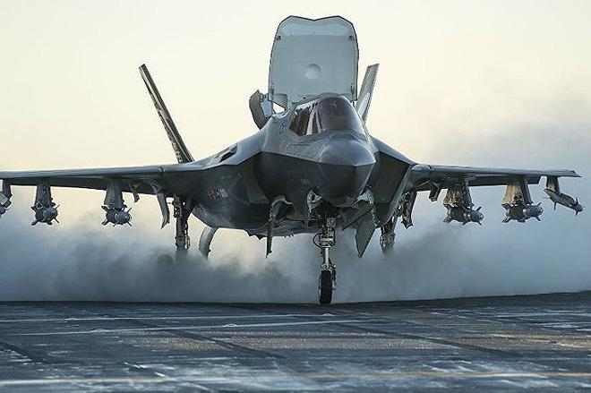 Nga giật mình khi tiêm kích F-35 Mỹ hiện diện ngay tại quốc gia từng thuộc Liên Xô - Ảnh 9.
