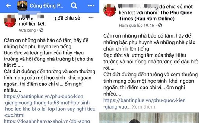 """Lùm xùm """"Á khôi doanh nhân"""" ở Phú Quốc chửi hiệu trưởng: 2 điểm bị phản bác"""