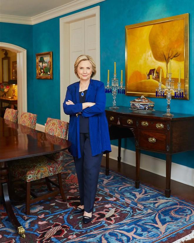 Hình ảnh hiếm hoi về ngôi nhà triệu USD của bà Hillary Clinton ở thủ đô Washington - ảnh 1