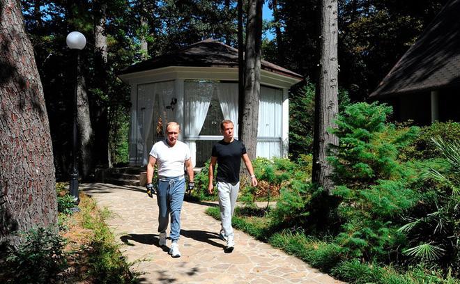 8 nơi ở chính thức của Tổng thống Nga Putin - ảnh 9