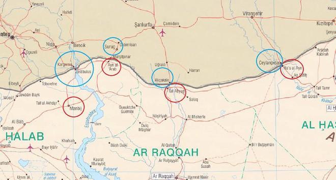 Thùng thuốc súng Bắc Syria: Mỹ - Thổ chỉ chờ tia lửa? - Ảnh 1.