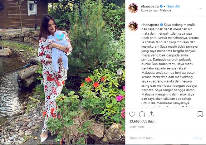 Người đẹp Nga đăng ảnh con trai vừa tròn 2 tháng tuổi, đáp trả khéo léo thông tin về xuất thân của đứa trẻ khiến người dùng mạng ủng hộ ầm ầm - Ảnh 2.