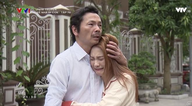"""Cảnh ông Sơn sang nhà chồng Thư nghẹn ngào nói """"Về nhà đi con"""" khiến cả mạng xã hội dậy sóng - Ảnh 2."""