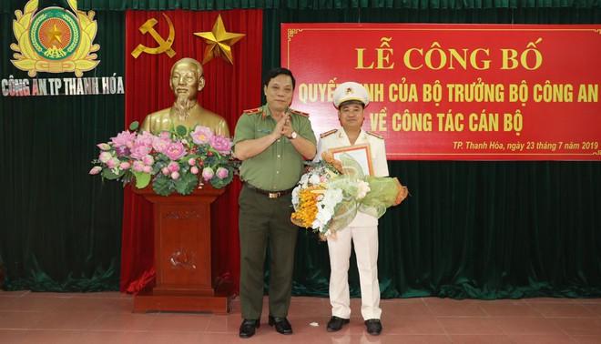 Thành phố Thanh Hóa có Trưởng Công an mới thay thế ông Nguyễn Chí Phương - Ảnh 1.