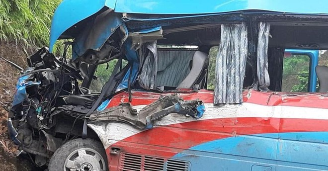 Vụ xe khách đâm xe đầu kéo ở Tuyên Quang: Nạn nhân là giáo viên Hải Phòng đi từ thiện - Ảnh 3.