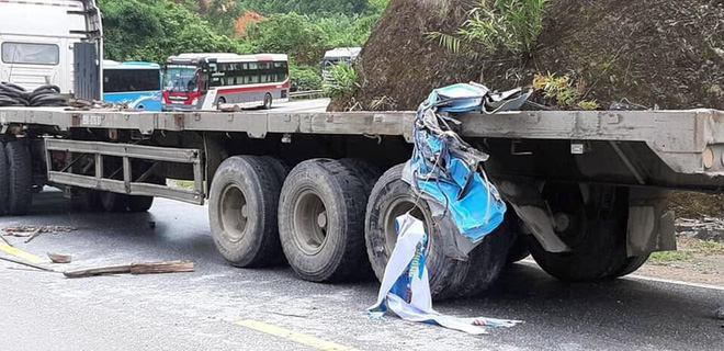 Vụ xe khách đâm xe đầu kéo ở Tuyên Quang: Nạn nhân là giáo viên Hải Phòng đi từ thiện - Ảnh 7.