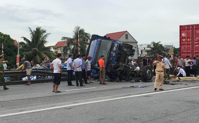 Lời khai ban đầu của tài xế xe tải gây tai nạn khiến 5 người tử vong ở Hải Dương