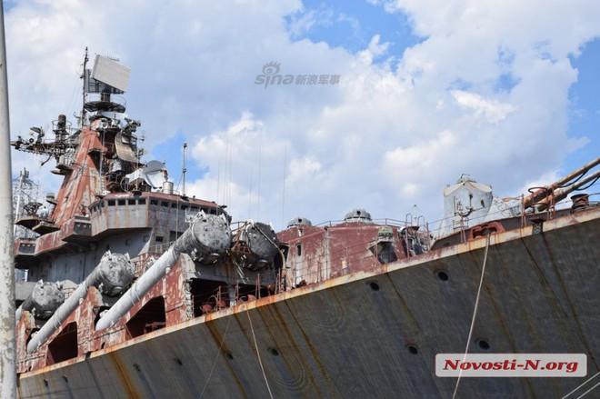 Ngạc nhiên trước tình trạng tuần dương hạm Slava của Ukraine: Có khả năng phục hồi? - Ảnh 7.
