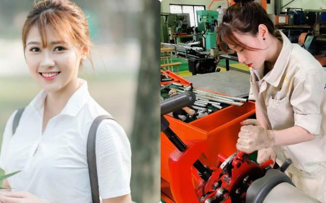 """Chụp ảnh mặc đồ công nhân bị chê làm màu, nữ sinh viên đáp trả: """"Công việc của tôi đấy"""""""